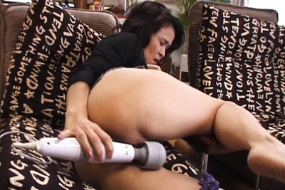 Yoko pussy is getting very wet as she plays with her sex toys